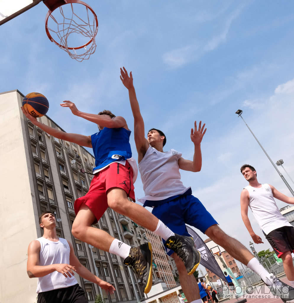 Francesco Tadini, adidas Playground Milano League 15 giugno in via Sammartini